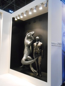Mannequin & Strass sculpture